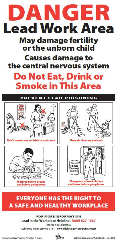 Clc newsletter spring 2015 for What are the dangers of lead paint