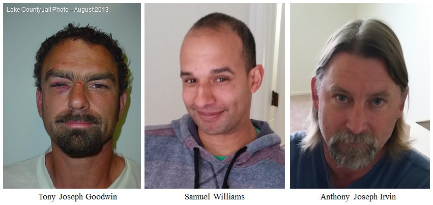 Image of Three Sonoma Count Men